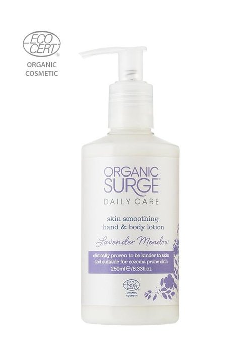 Organic Surge Organic Hand and Body Lotion - Lavender Meadow