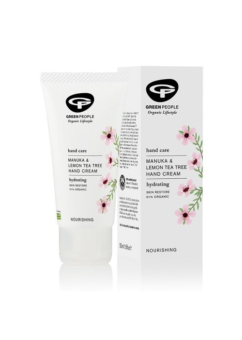 Green People Manuka and Lemon Tea Tree Hand Cream