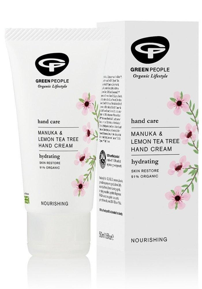 Manuka and Lemon Tea Tree Hand Cream