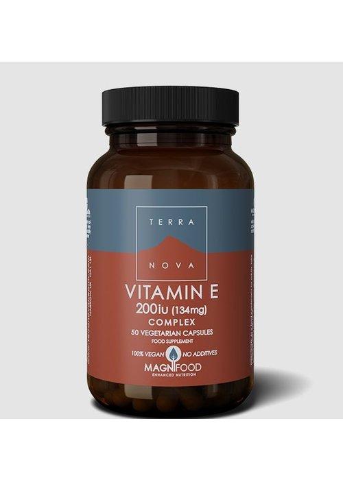 Terranova Vitamin E 200iu Complex 50 caps