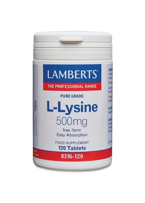 Lamberts L-Lysine 500mg 120 tabs