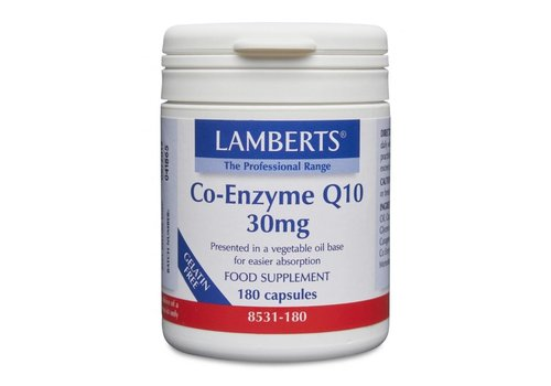 Lamberts Co-Enzyme Q10 30mg 60 caps
