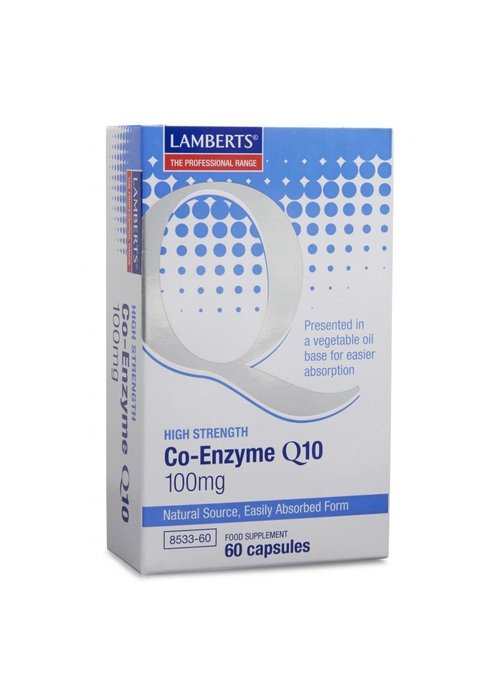 Lamberts Co-Enzyme Q10 100mg