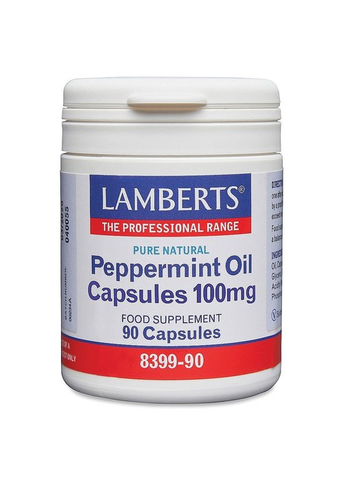 Lamberts Peppermint Oil capsules 50mg 90 caps