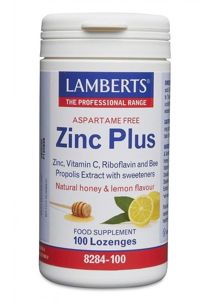 Zinc Plus Lozenges 100 tab