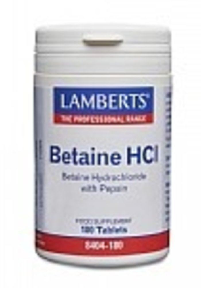 Betaine Hydrochloride with Pepsin 90 tabs