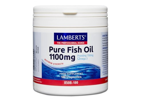 Lamberts Pure Fish Oil 60 capsules