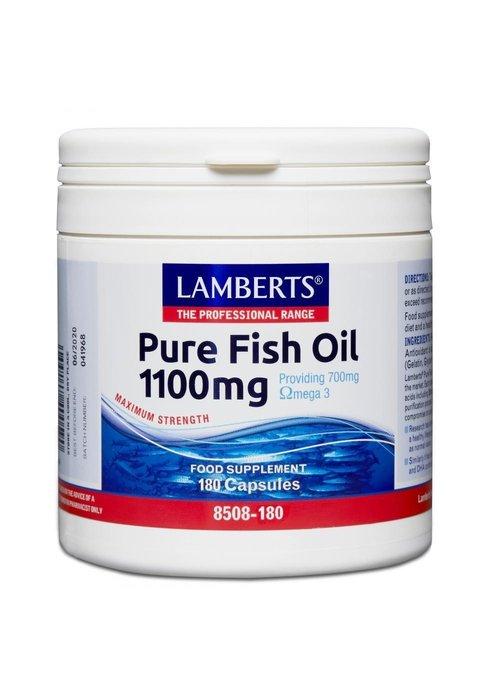 Lamberts Pure Fish Oil 1100mg