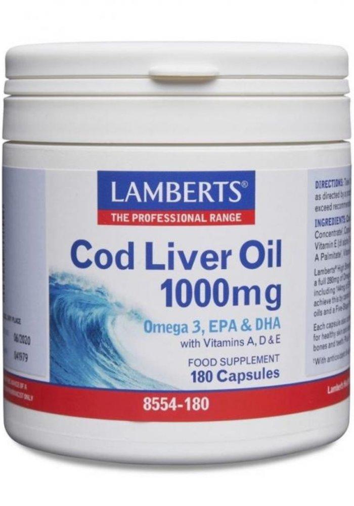 Cod Liver Oil 1000mg 180 caps