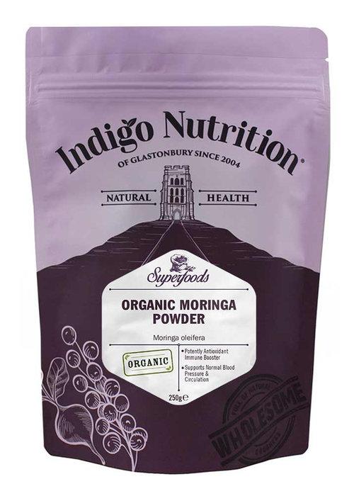 Indigo Herbs Organic Moringa Powder – 100g