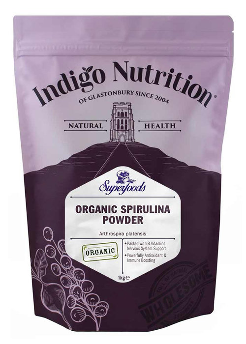 Indigo Herbs Organic Spirulina Powder – 200g