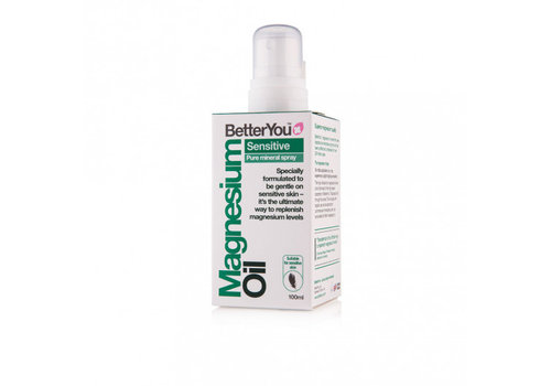 BetterYou Magnesium Oil Spray: Sensitive 100ml