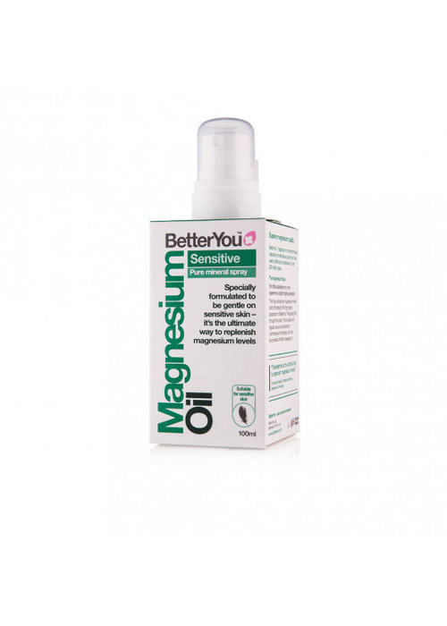 BetterYou Magnesium Oil Spray: Sensitive 100ml