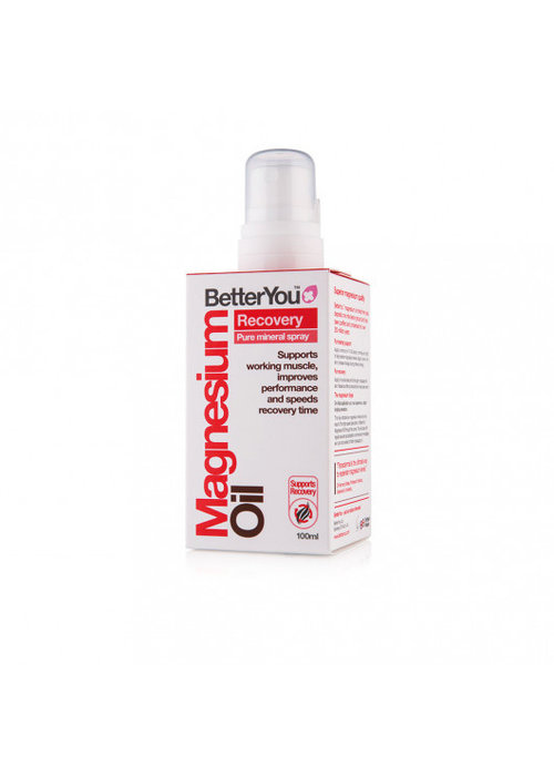 BetterYou Magnesium Oil Spray: Recovery 100ml