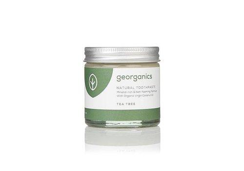 Georganics Organic Natural Toothpaste: Tea Tree 60ml