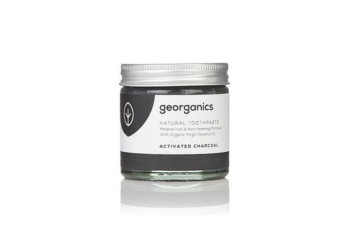 Georganics Organic Natural Toothpaste: Coconut Activated Charcoal 60ml