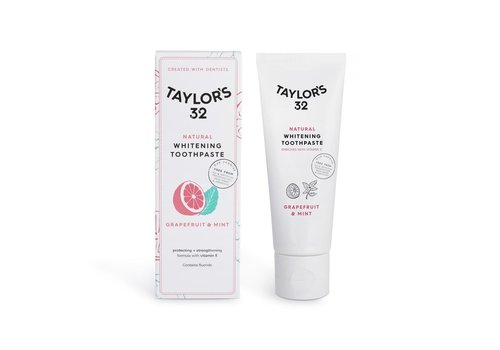 Taylor's 32 Natural Whitening Toothpaste - Grapefruit & Mint