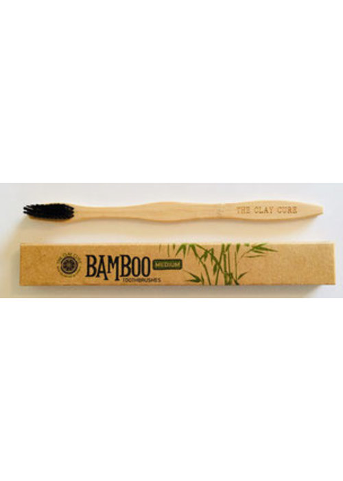 The Clay Cure Bamboo Toothbrush Box of 4