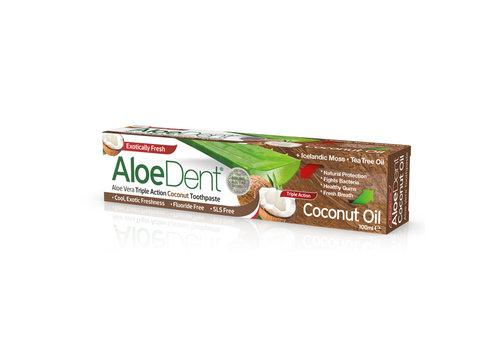 Aloe Dent Coconut Fluoride Free Toothpaste 100ml