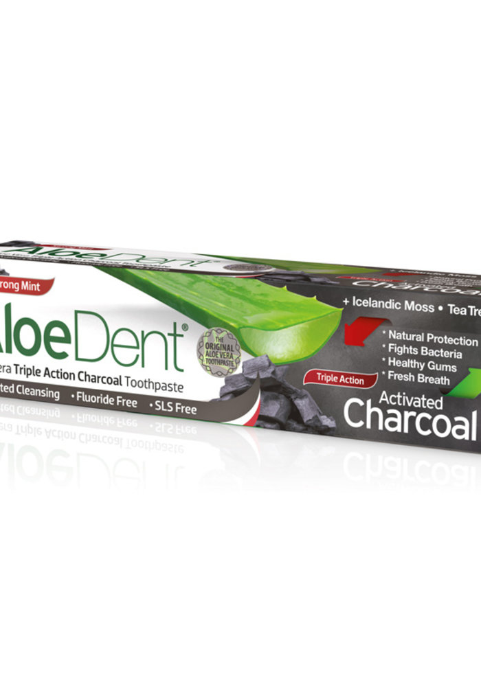 Charcoal Fluoride Free Toothpaste 100ml