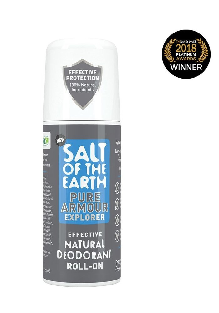 Natural Deodorant Roll On - Pure Armour Explorer