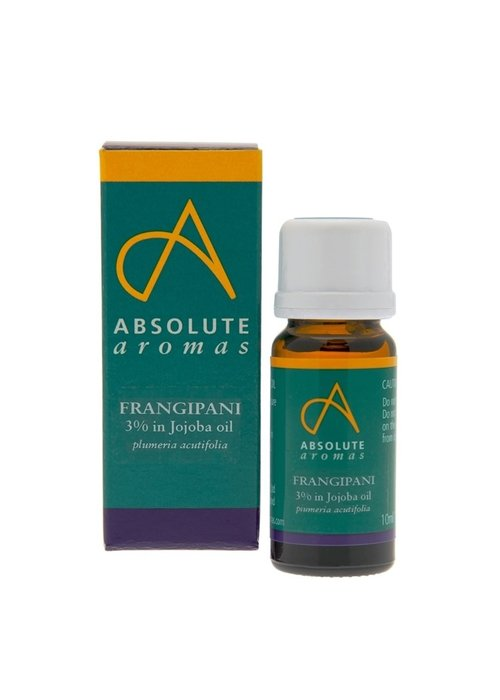 Absolute Aromas Essential Oil: Frangipani 3%: 10ml