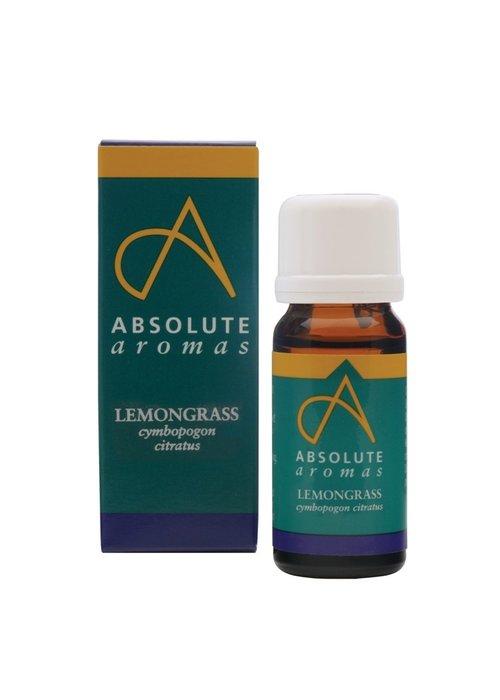Absolute Aromas Essential Oil: Lemongrass: Organic: 10ml