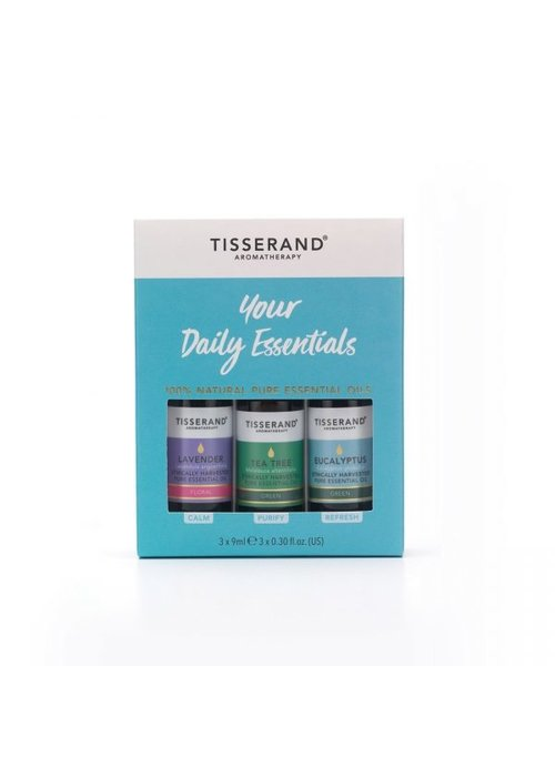 Tisserand Your Daily Essentials Aromatherapy Kit