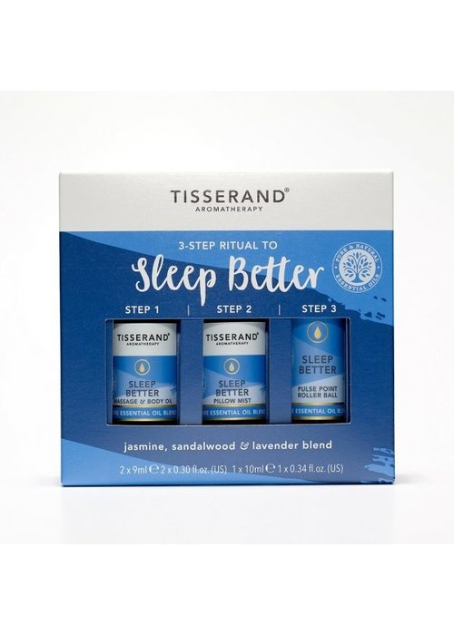 Tisserand 3-Step Ritual to Sleep Better
