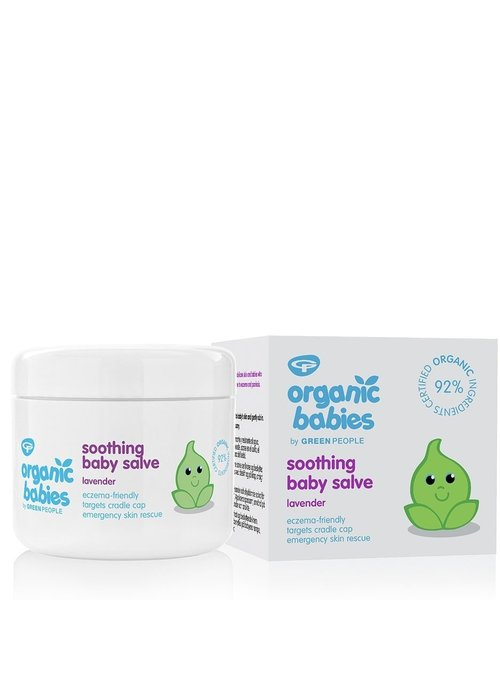 Green People Organic Babies Soothing Baby Salve - Lavender 100ml