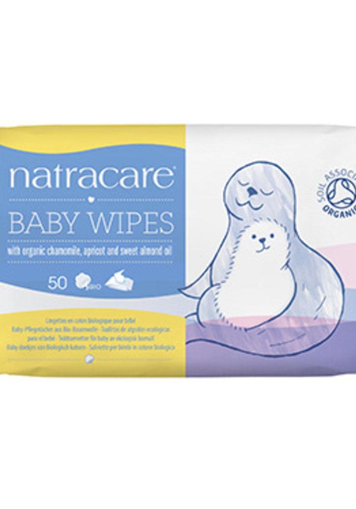 Organic Baby Wipes 50's
