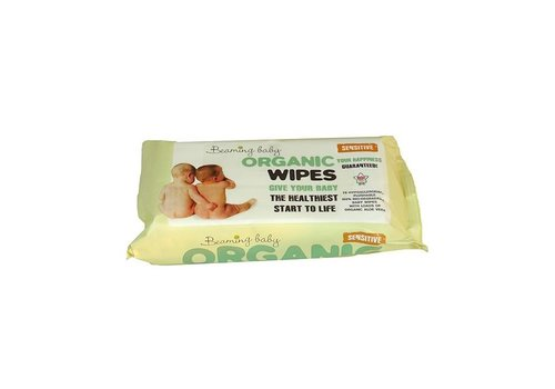 Beaming Baby Organic Baby Wipes 72 wipes