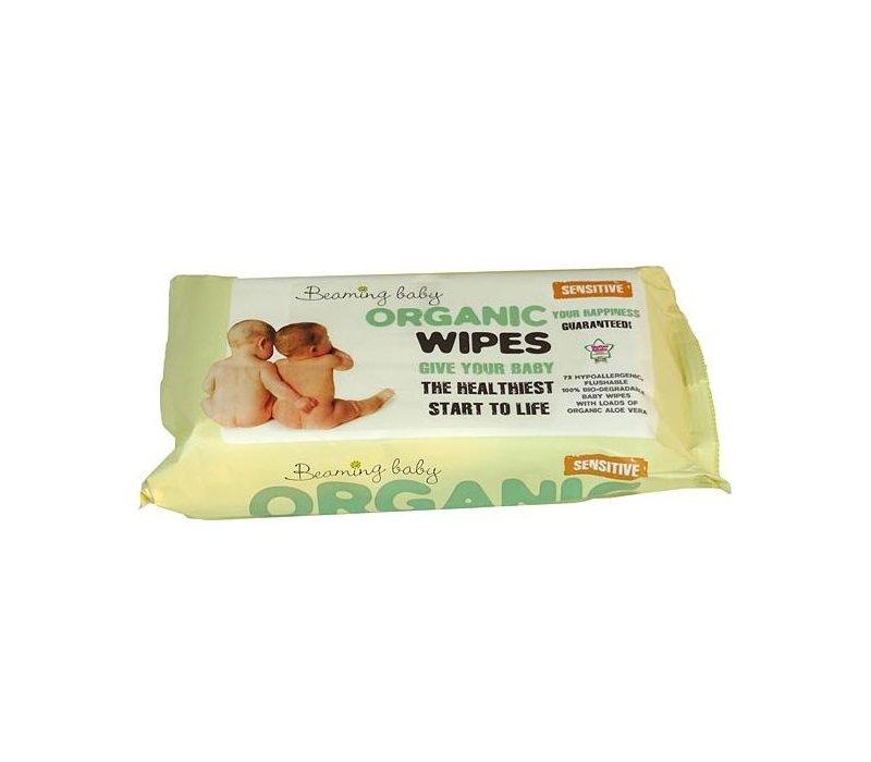 Organic Baby Wipes 72 wipes