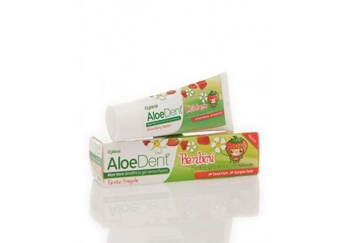Aloe Dent Children's Fluoride Free Toothpaste 50ml