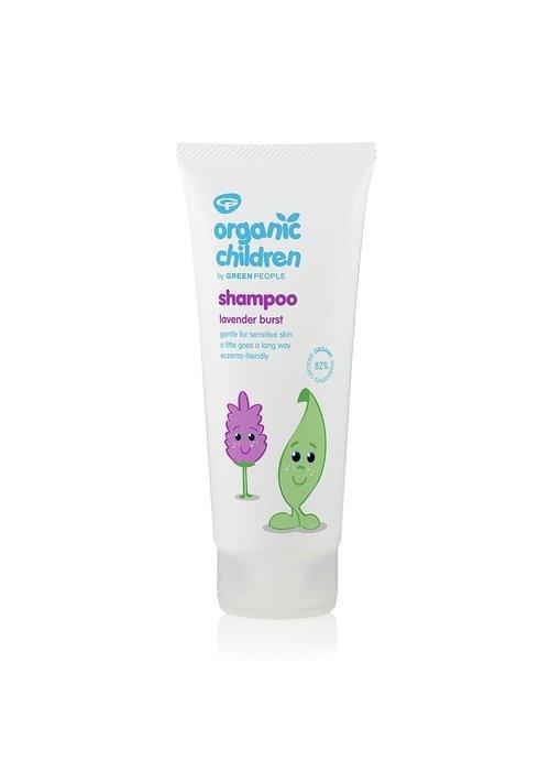 Green People Organic Children Shampoo - Lavender Burst 200ml