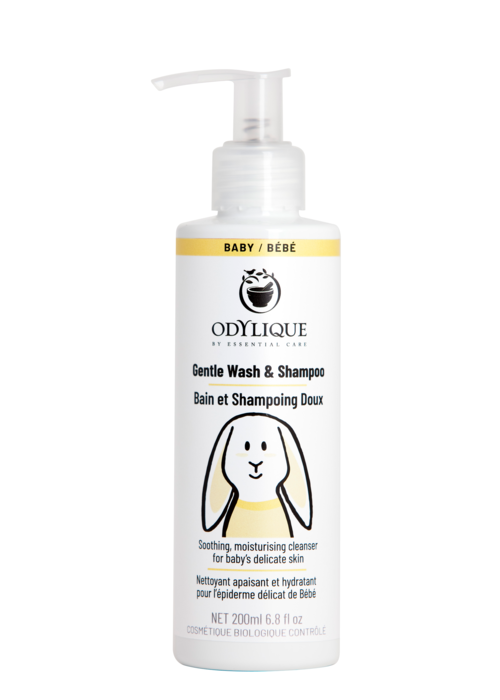 Odylique Organic Baby Gentle Wash and Shampoo 200ml