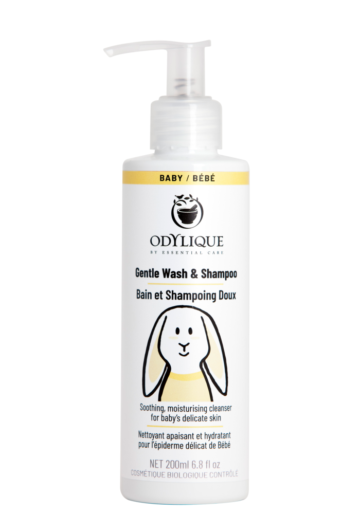 Organic Baby Gentle Wash and Shampoo 200ml