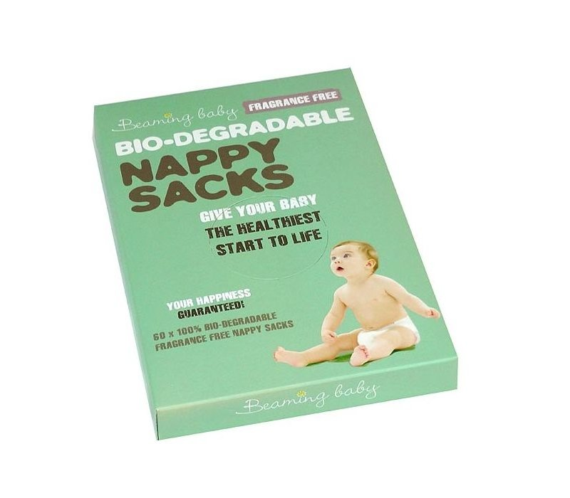 Bio Degradable Nappy Sacks Fragrance Free 60 sacks