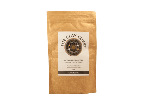 The Clay Cure Activated Charcoal 200g