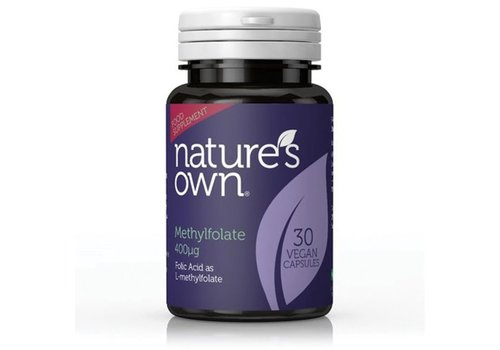 Nature's Own Folic Acid As Methylfolate 30 caps