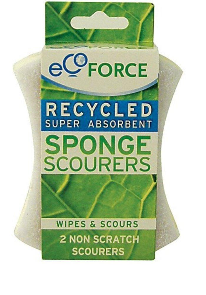 Sponge Scourer - Non Scratch 2pk