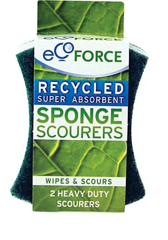 Sponge Scourer - Heavy Duty 2pk