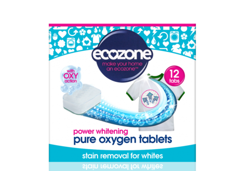 EcoZone Power Whitening Pure Oxygen Tablets 12 tabs