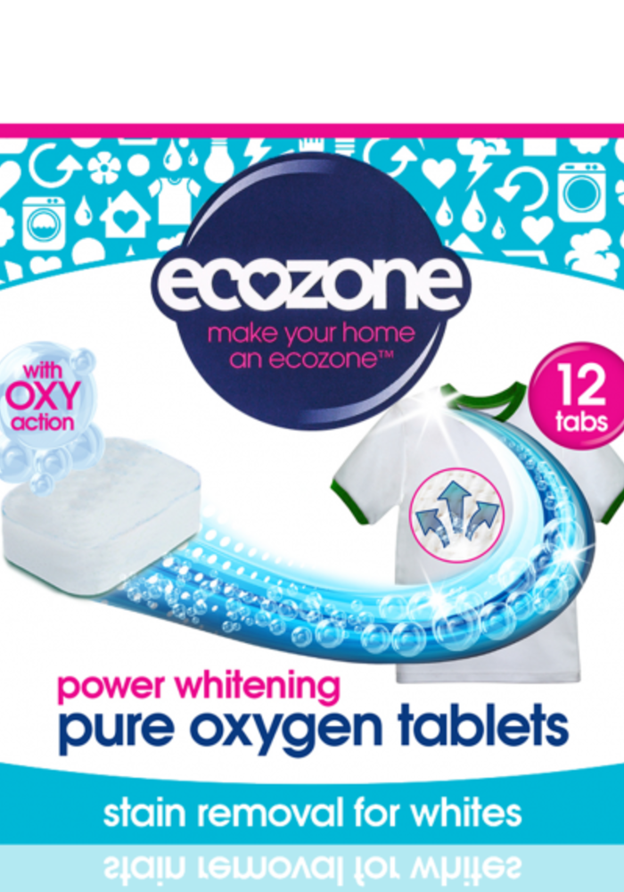 Pure Oxygen Whitening Tablets 12 tabs