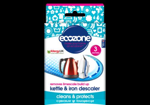 EcoZone Kettle and Iron Descaler 3 Sachets