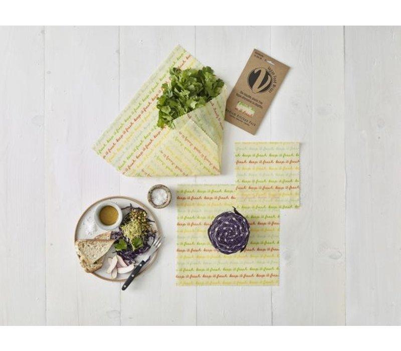 Vegan Food Wrap - Medium Kitchen