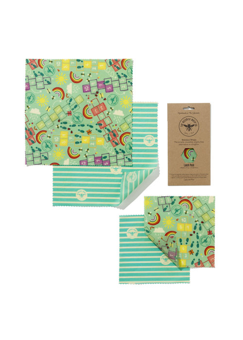 The Beeswax Wrap Co. Food Wrap - Lunch Pack
