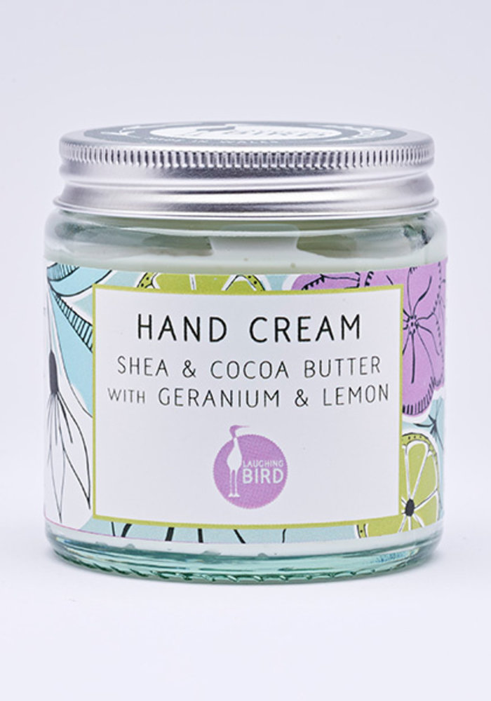 Hand Cream - Shea and Cocoa Butter with Geranium and Lemon