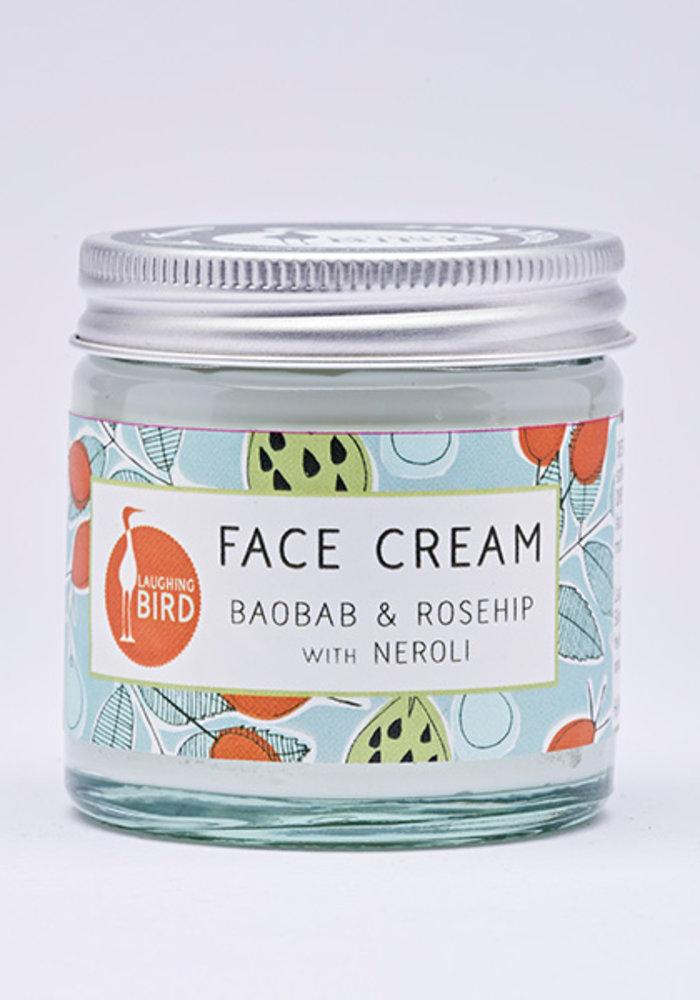 Laughing Bird Face Cream - Rosehip and Baobab