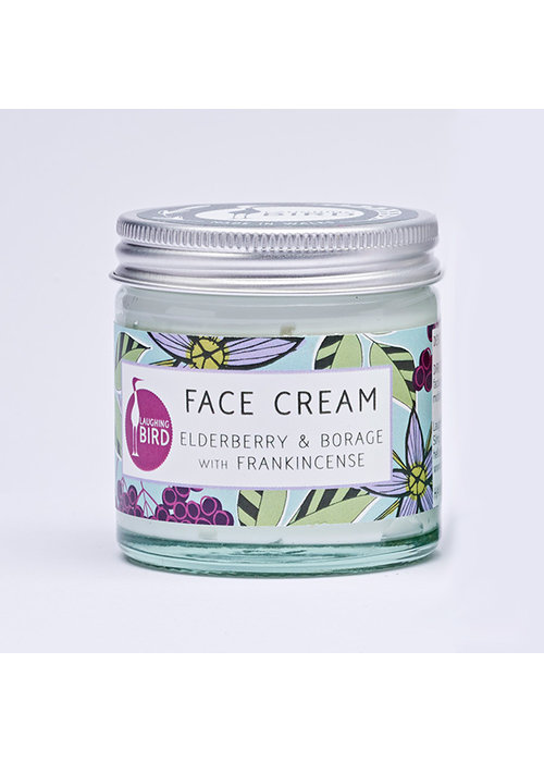 Laughing Bird Face Cream - Elderberry and Borage